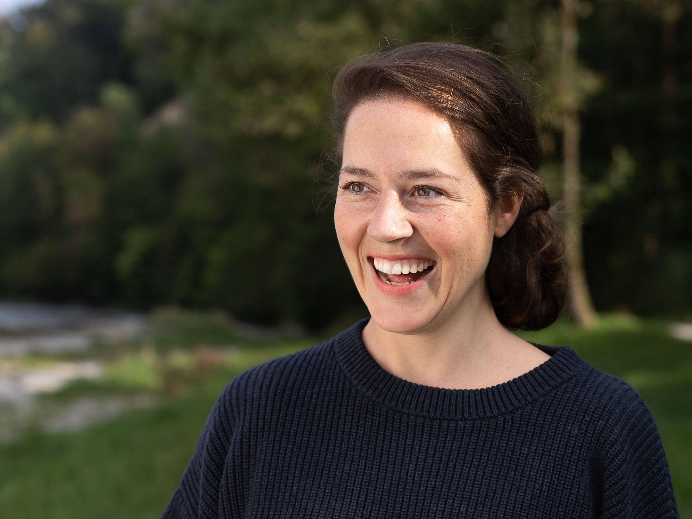 Porträt von Leslie